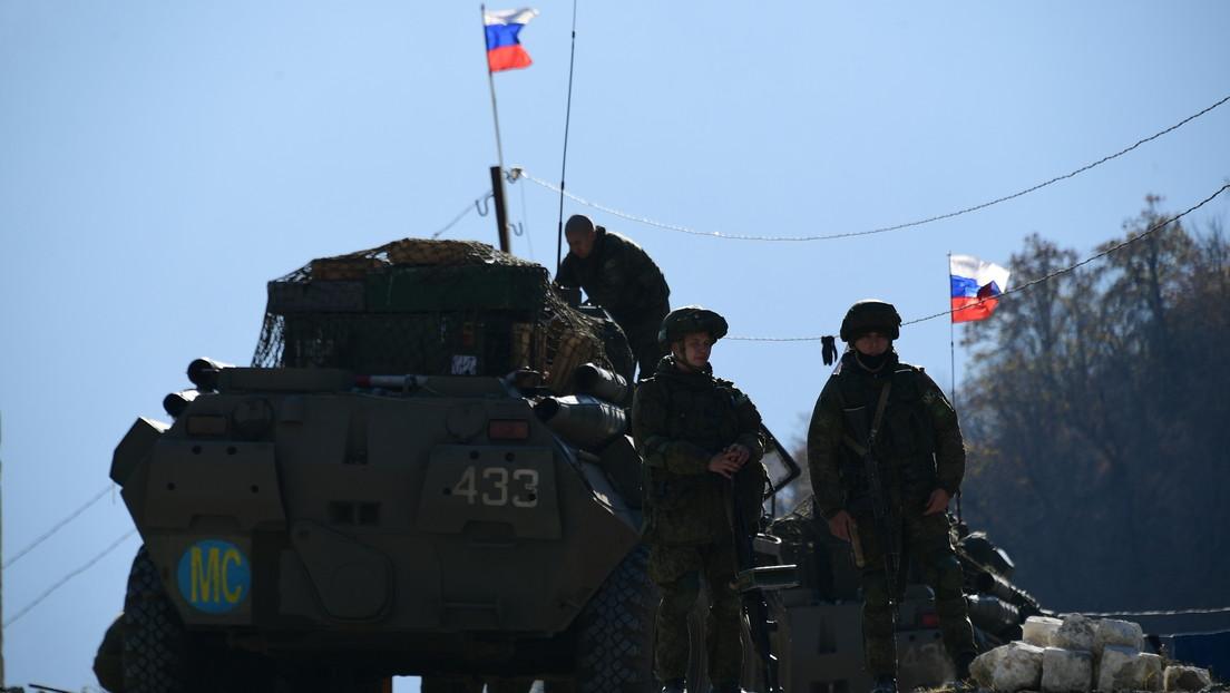 El Ministerio de Defensa ruso anuncia que el alto el fuego se está cumpliendo en toda la línea de contacto en Nagorno Karabaj
