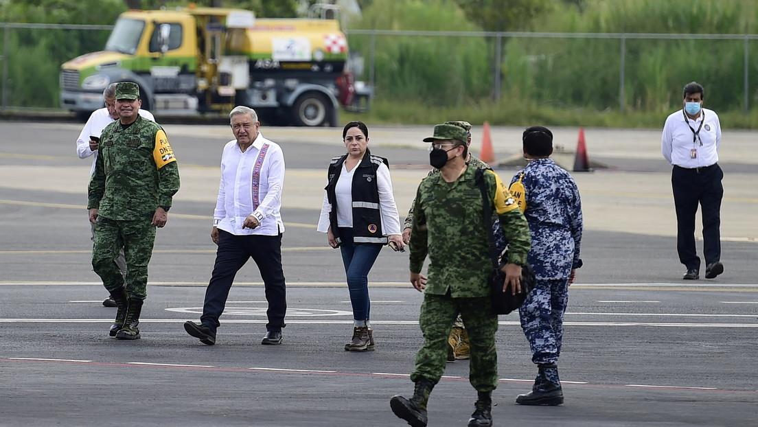 López Obrador admite que decidió inundar zonas pobres para resguardar a la ciudad de Villahermosa