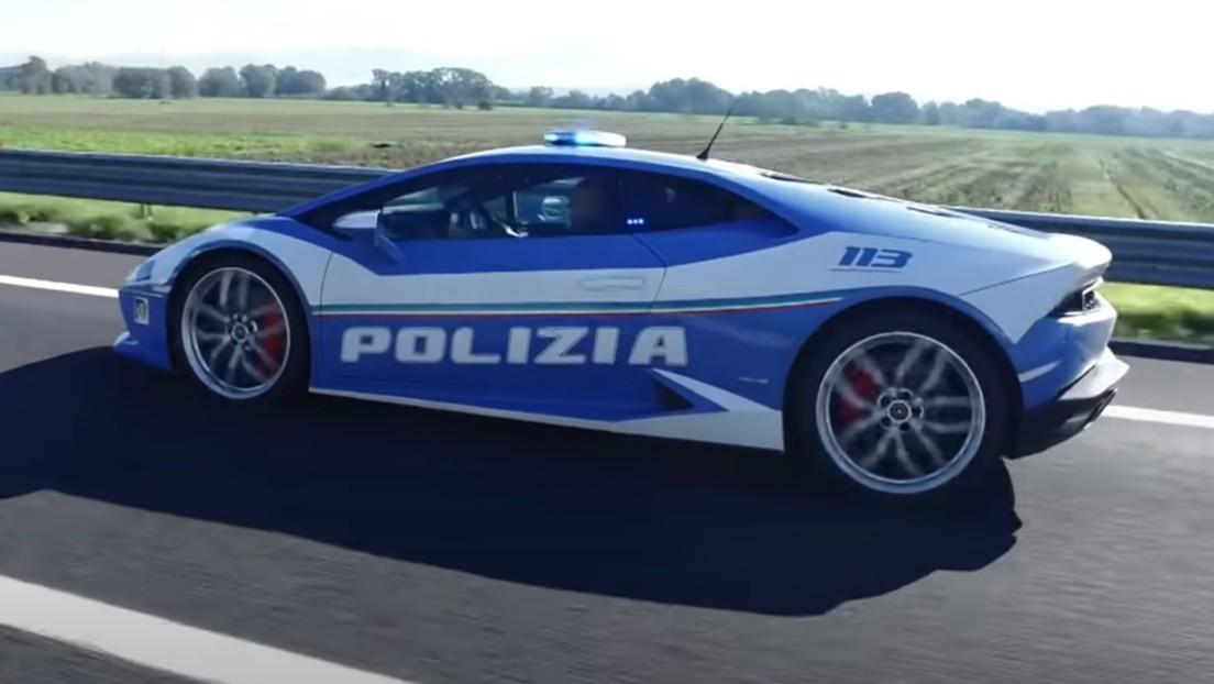 VIDEO: Policía italiana usa un Lamborghini Huracan para transportar un riñón para ser trasplantado en el momento adecuado