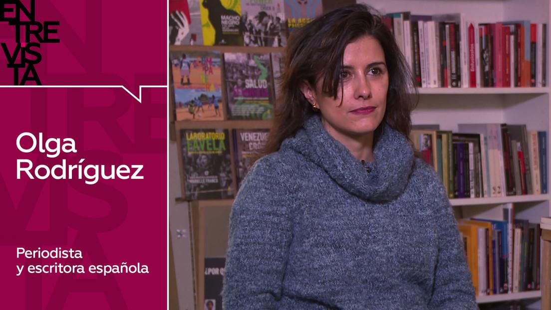 """Periodista y escritora española Olga Rodríguez: """"Lamentablemente una parte de la sociedad dejó de interesarse por la verdad"""""""