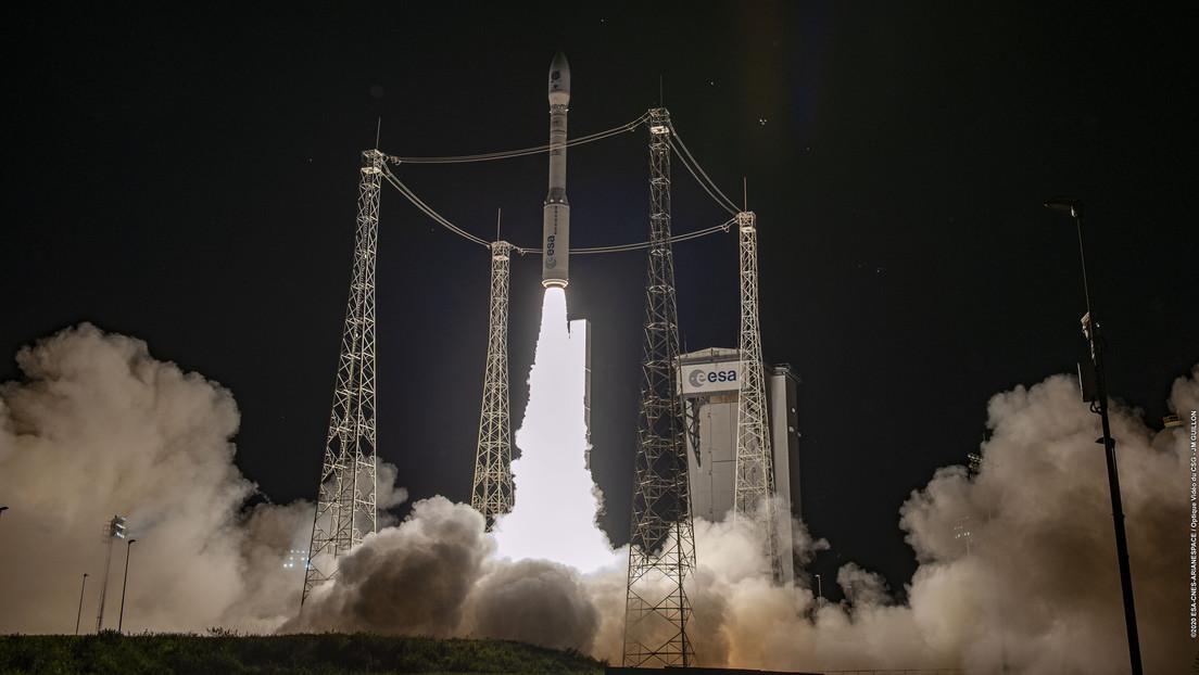 Falla la misión del cohete espacial Vega de la ESA después de que perdiera su trayectoria a los pocos minutos de ser lanzado
