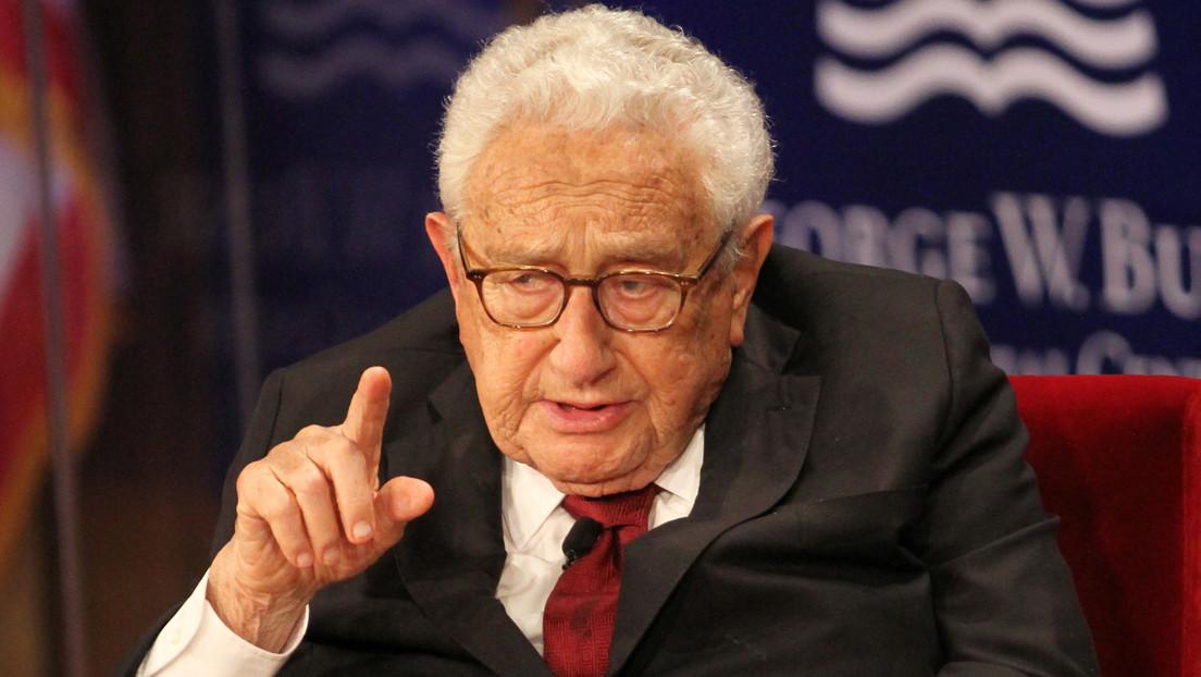 Kissinger advierte a Biden sobre una potencial catástrofe entre EE.UU. y China a escala de la Primera Guerra Mundial