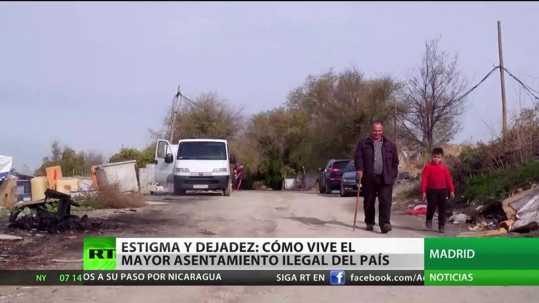 España: Cómo vive el mayor asentamiento ilegal del país, en medio del estigma y la dejadez