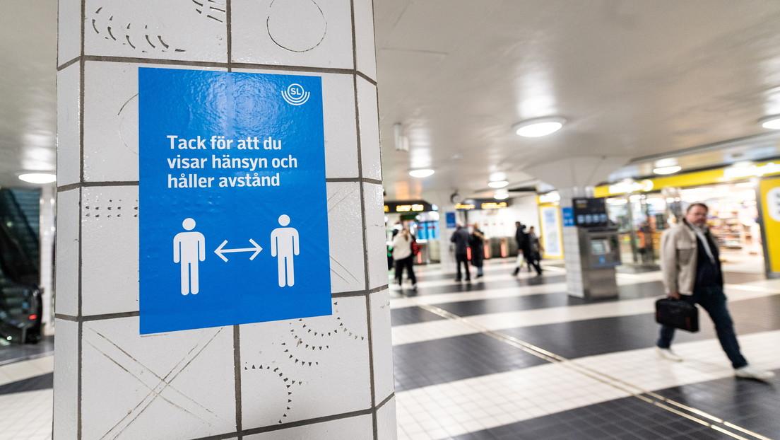 Suecia prohíbe las reuniones públicas de más de ocho personas por primera vez desde el inicio de pandemia