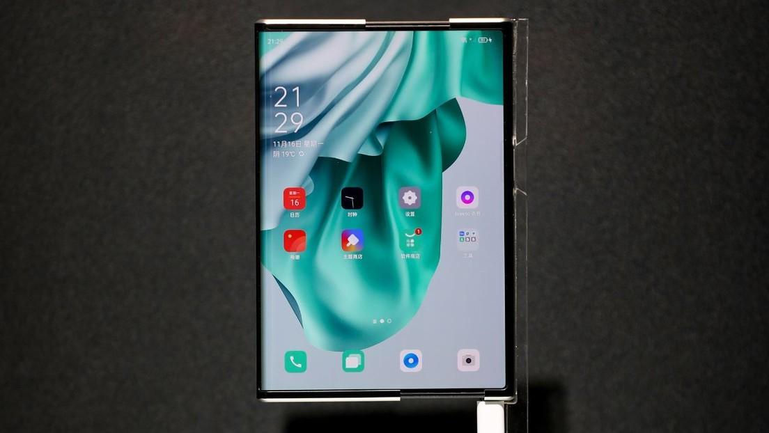 VIDEOS: Oppo presenta un innovador concepto de teléfono con pantalla enrollable