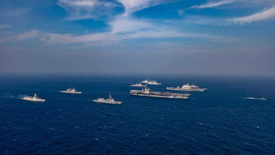 India acoge ejercicios navales con Australia, Japón y EE.UU. en el mar Arábigo en medio de tensiones con China