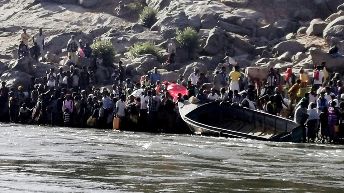 """Agencia de refugiados de la ONU avisa de una """"crisis humanitaria a gran escala"""" en Sudán por el conflicto en Etiopía"""