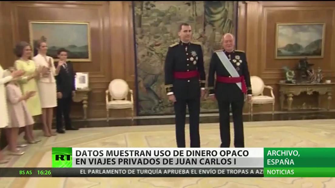 Datos muestran uso de dinero opaco en viajes de Juan Carlos I