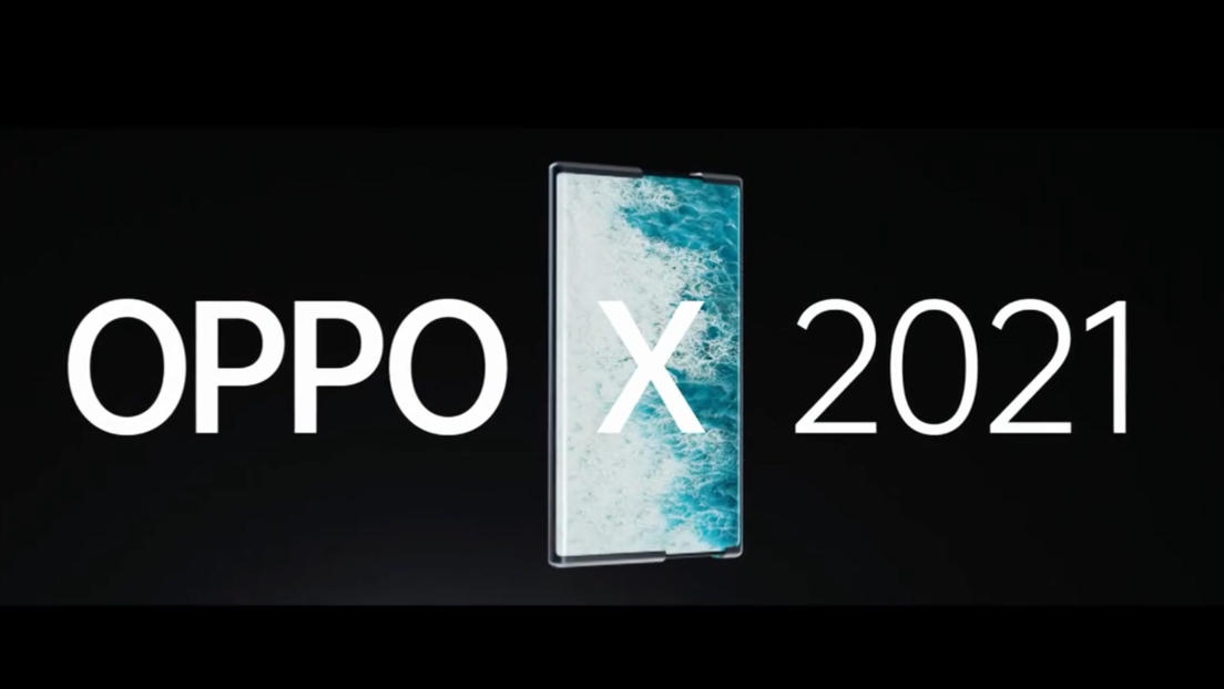VIDEO: Presentan el Oppo X 2021, primer teléfono con pantalla enrollable