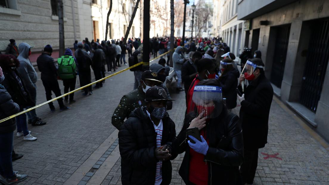 Se desatan nuevas protestas en Chile por la presentación de una 'reserva de inconstitucionalidad' contra el segundo retiro de pensiones
