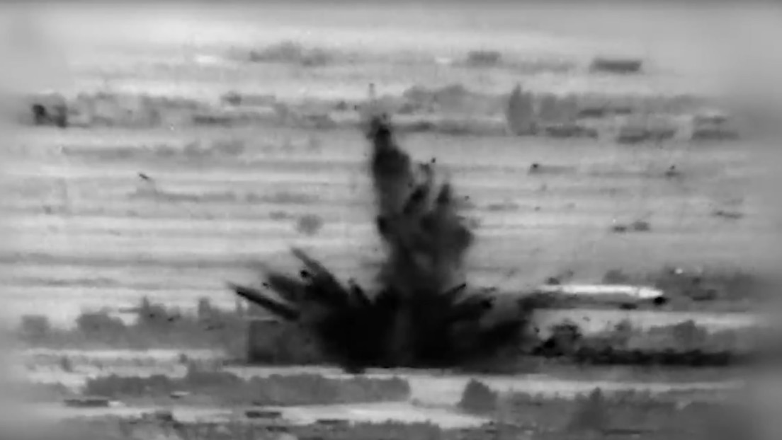 VIDEO: Momento exacto del ataque de la aviación israelí contra objetivos en Siria, en el que se reportan 3 soldados muertos