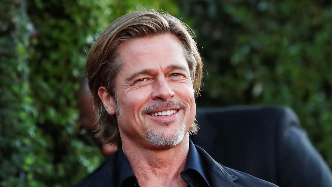 Brad Pitt pasa varias horas descargando y entregando cajas de alimentos a familias necesitadas en medio de pandemia en Los Ángeles (FOTOS)