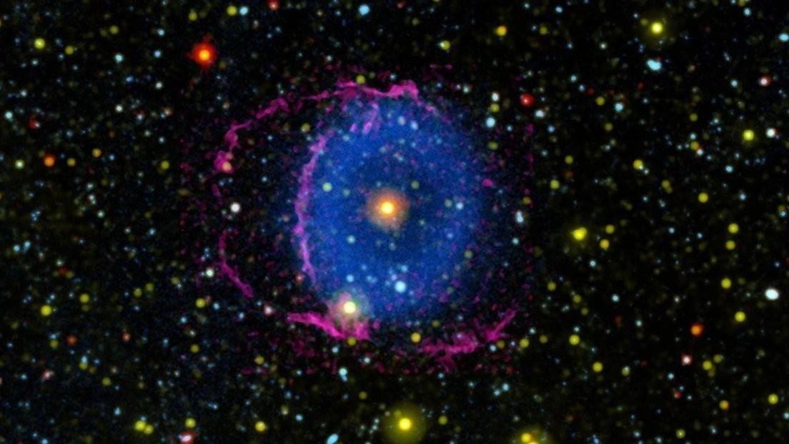 Resuelven el enigma de la nebulosa Anillo Azul, que brilla con luz ultravioleta
