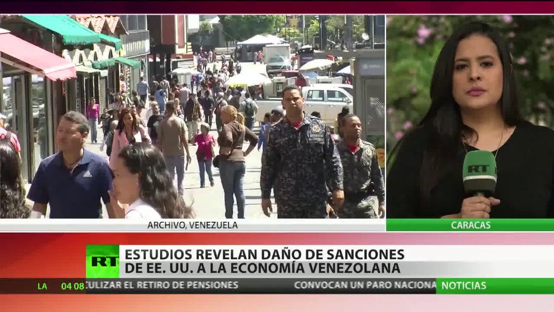 Estudios revelan el daño de las sanciones de EE.UU. a la economía venezolana