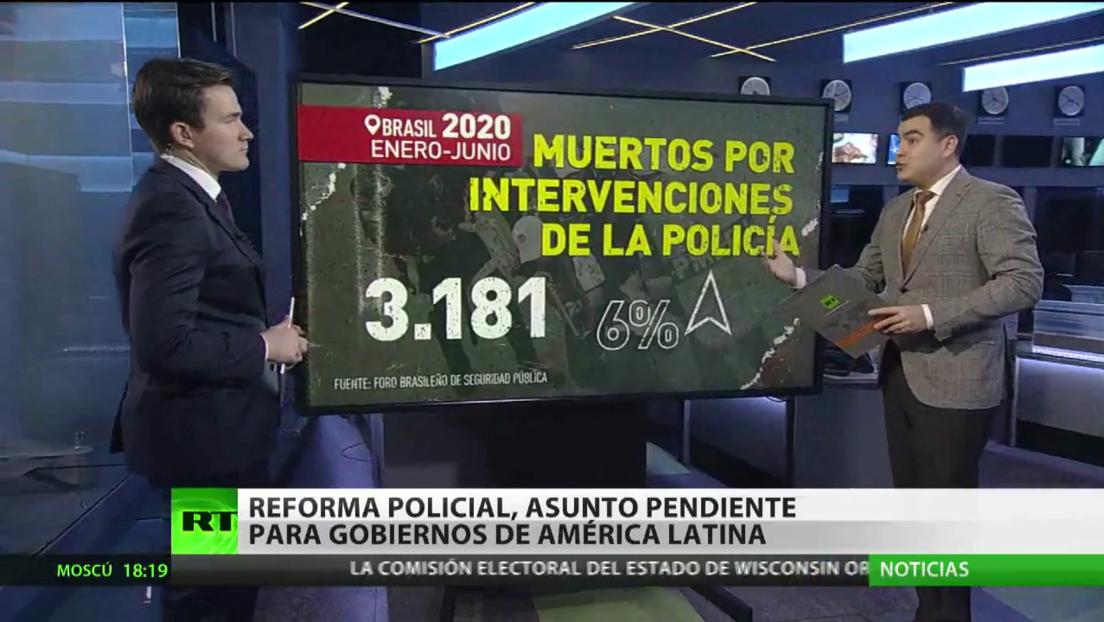 La reforma policial, asunto pendiente para los gobiernos de América Latina