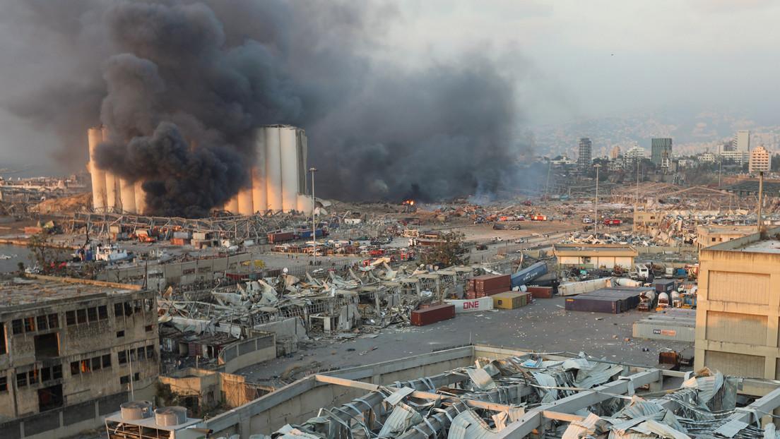 VIDEO: Reconstrucción en 3D de la explosión en el puerto de Beirut revela el punto exacto y la más probable causa del accidente