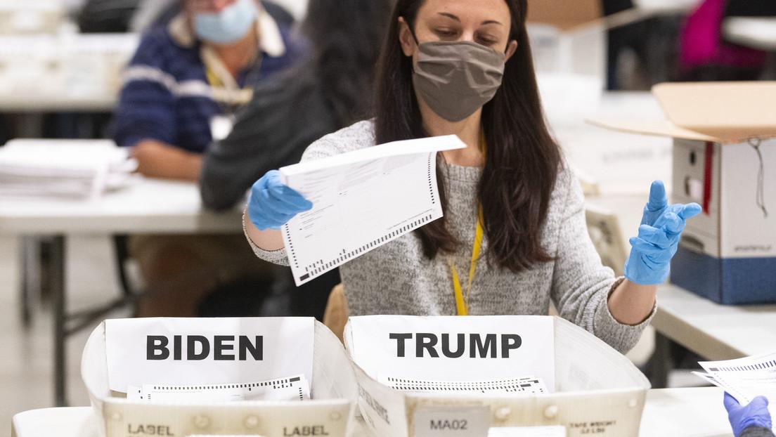 Recuento de votos confirma la victoria de Biden en Georgia