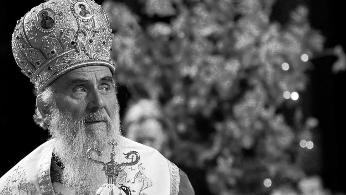 Muere por complicaciones del covid-19 el jefe de la Iglesia ortodoxa serbia
