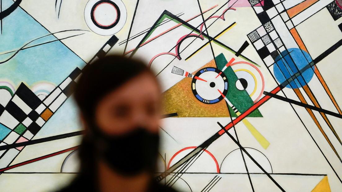 Decenas de obras del pionero de la abstracción Vasily Kandinsky se exponen en el Museo Guggenheim en España