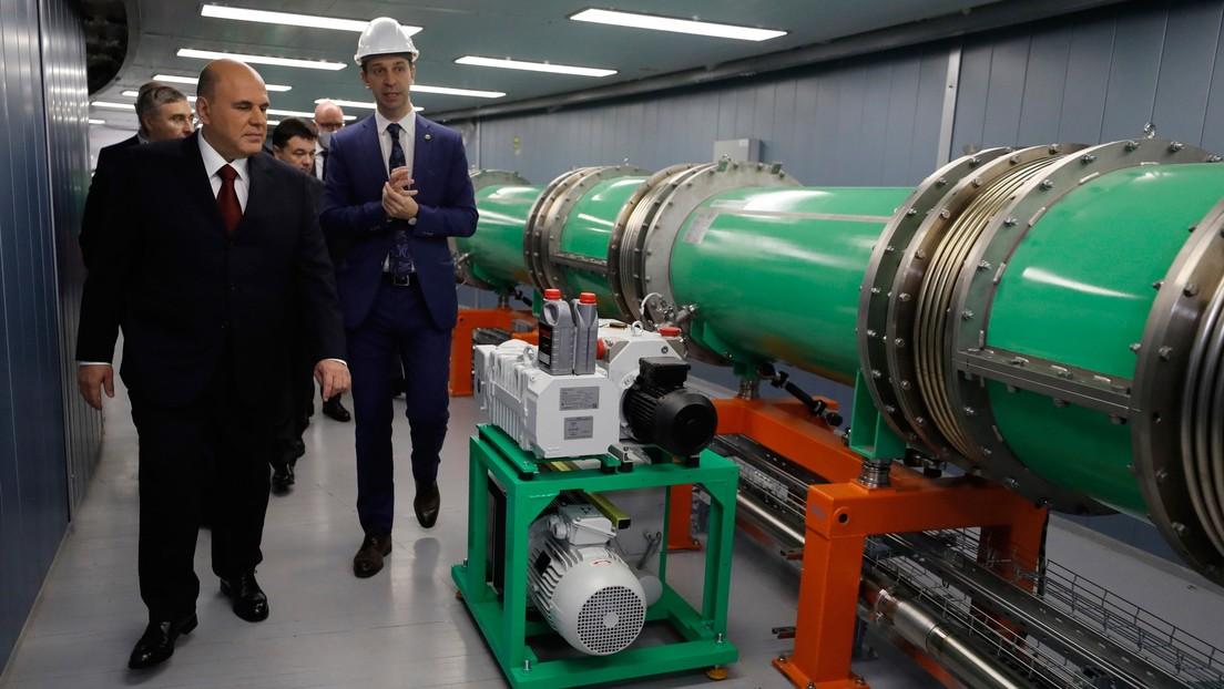 Rusia pone en marcha el acelerador de iones pesados del colisionador NICA