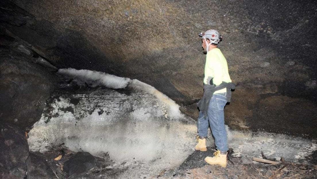 Descubren que los antepasados de los indios pueblo extraían agua derritiendo el hielo de las cuevas durante las sequías