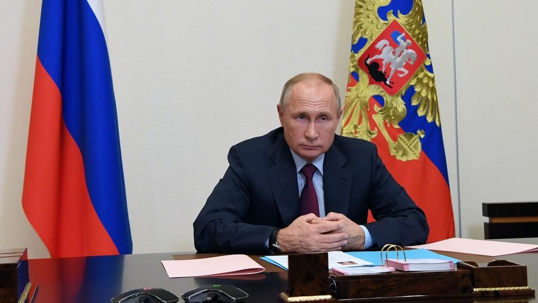 Putin extiende las contrasanciones a Occidente hasta diciembre de 2021
