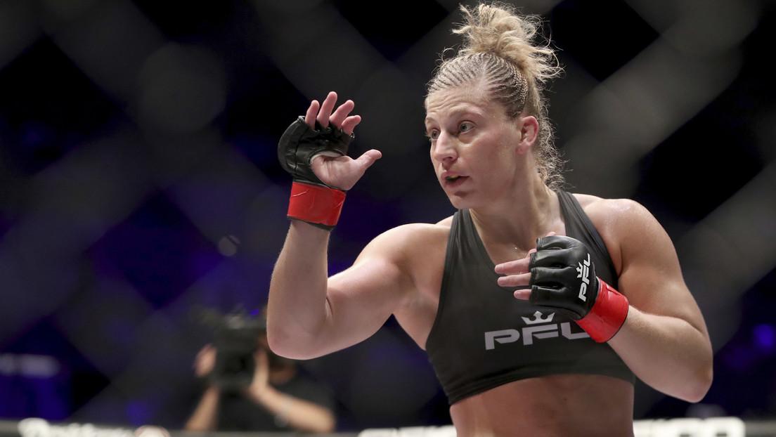 """FOTOS: Una peleadora de MMA logra un """"devastador"""" nocaut técnico tras dejar ensangrentada a su rival y el octágono"""