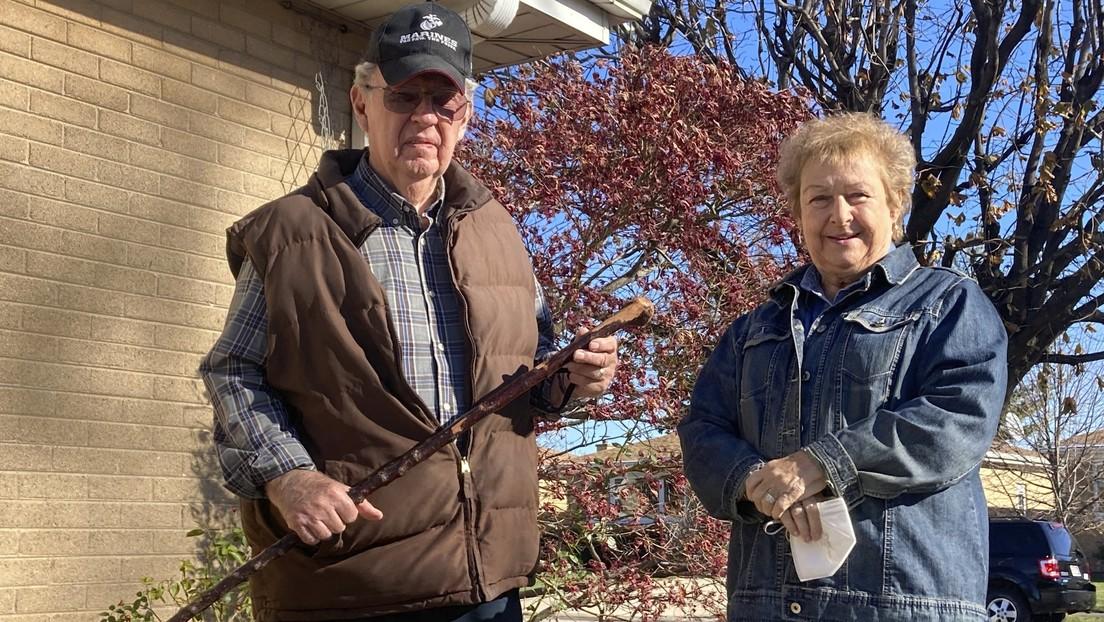 Un exmarine de 81 años ahuyenta a un grupo de ladrones con un antiguo bastón de su abuelo