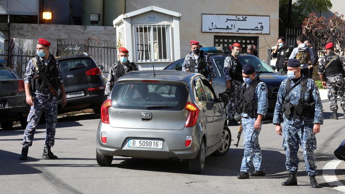 69 presos huyen у cinco mueren durante una fuga masiva de una cárcel del Líbano