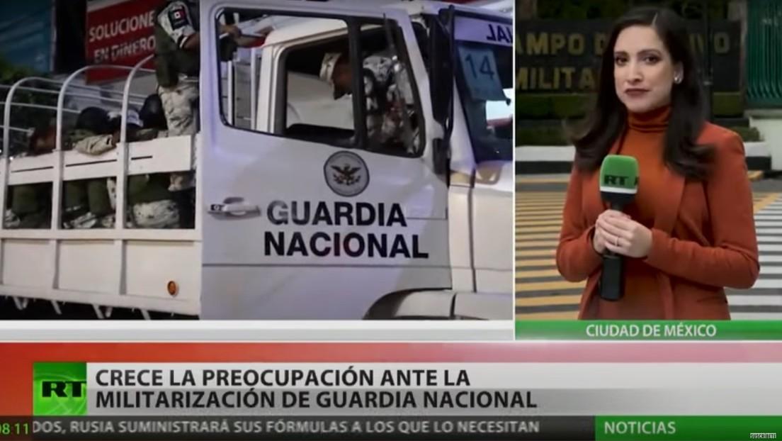 Crece la preocupación en México por la militarización de la Guardia Nacional