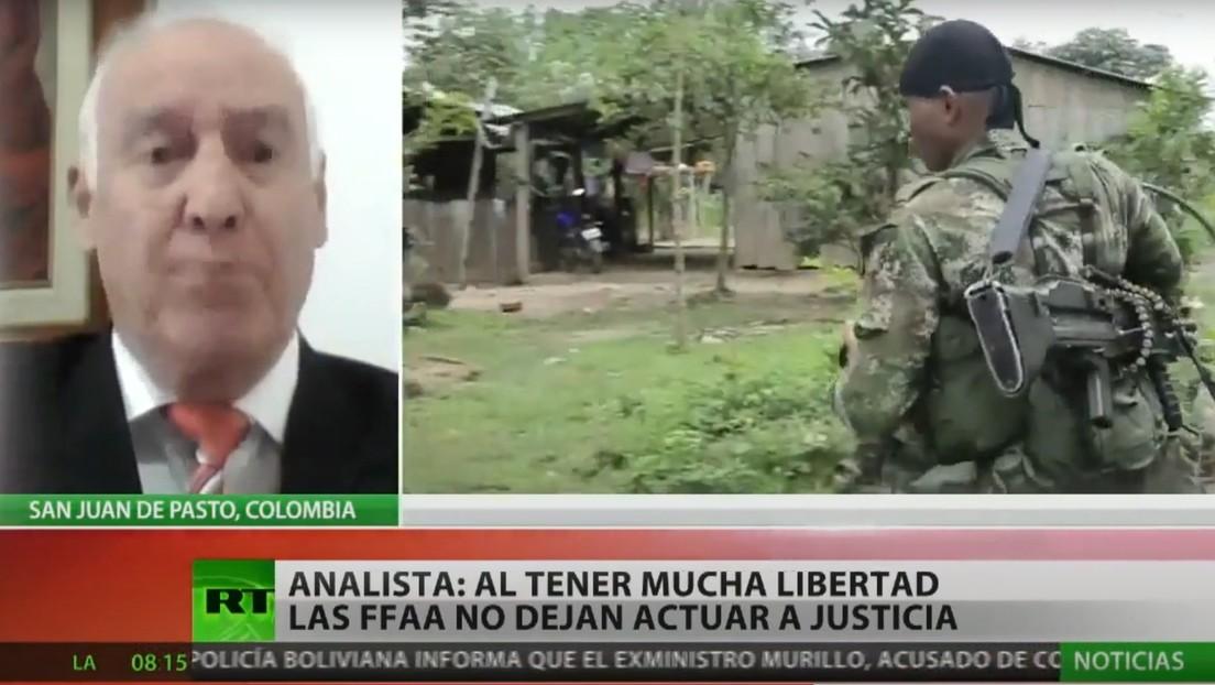 """Analista: """"Hay una crisis inmensa en Colombia porque las Fuerzas Armadas han sido cuestionadas por espionaje, corrupción y abusos de derechos humanos"""""""