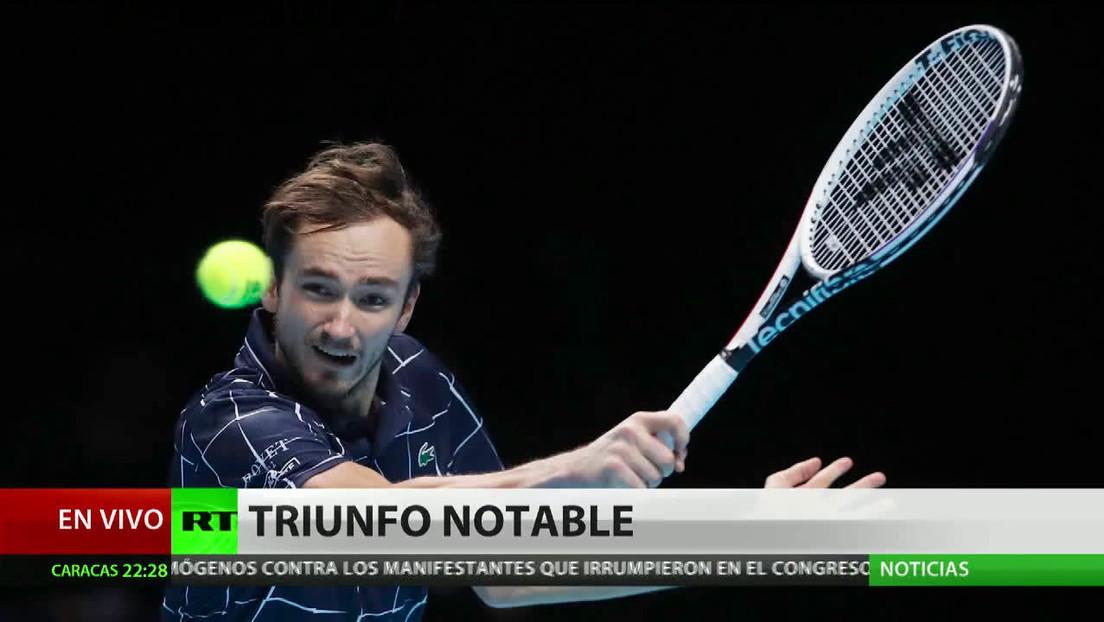 Medvédev vence a Nadal y pasa a la final de la copa Masters