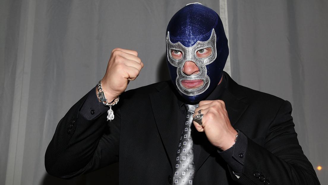 De luchador a político: Blue Demon Jr. se integra en las filas de un nuevo partido mexicano