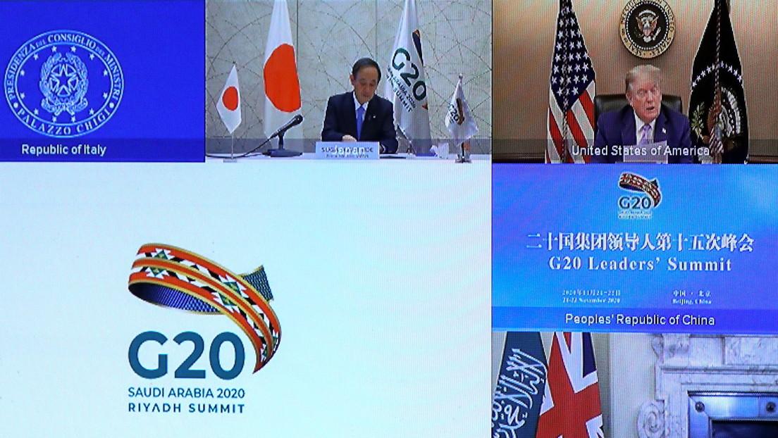"""Trump habría asegurado a los líderes del G20 que espera trabajar con ellos """"por mucho más tiempo"""""""