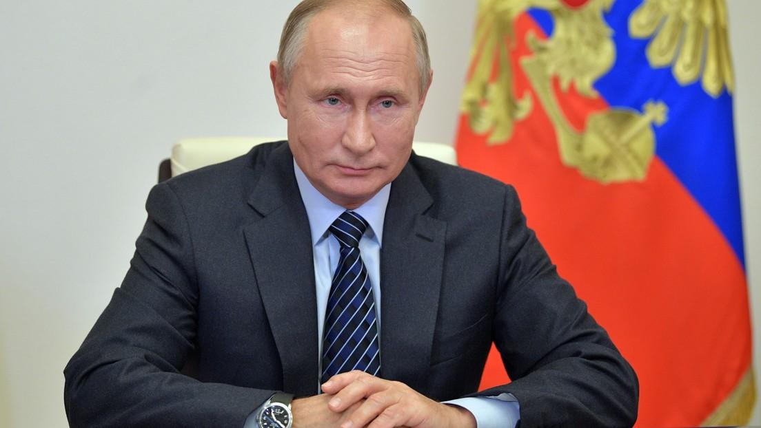 """""""Cosas puramente formales"""": Putin aclara que no felicitó a Biden porque los resultados oficiales de las presidenciales aún no se anunciaron"""