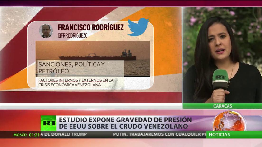 Estudio expone la gravedad de la presión de EE.UU. sobre el crudo venezolano