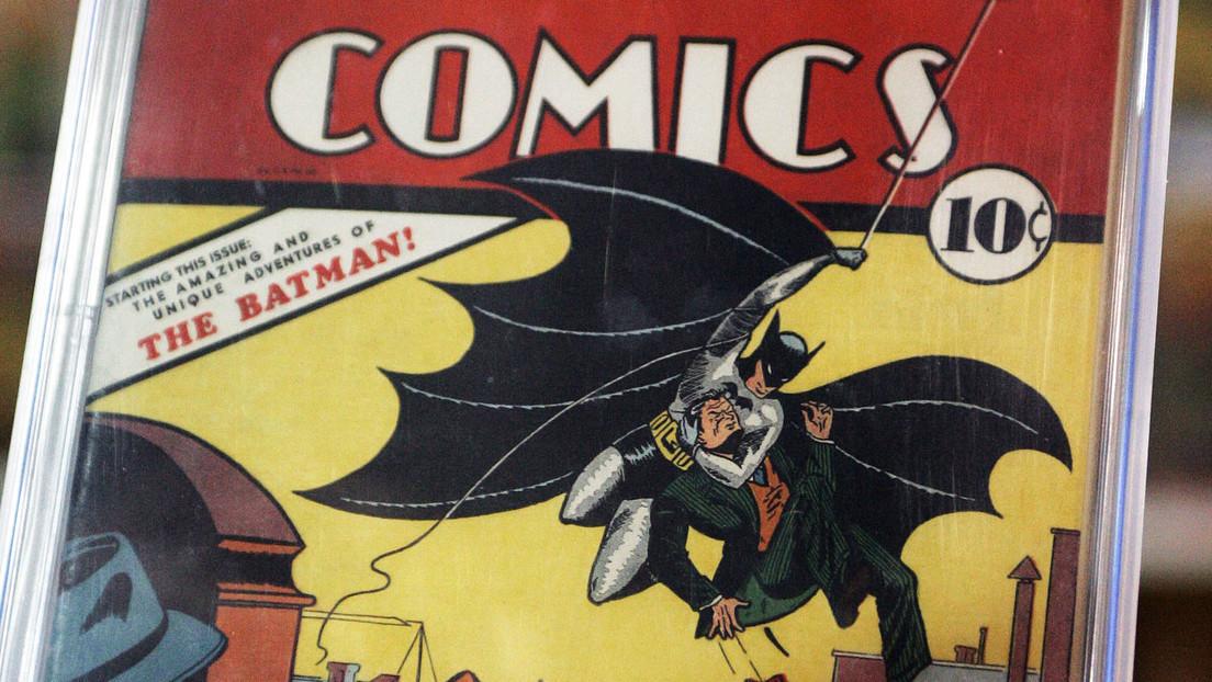 Récord: el primer cómic de Batman, subastado por 1,5 millones de dólares