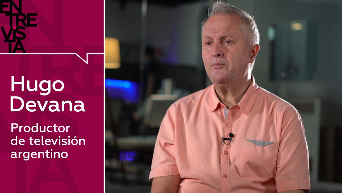 """Productor de televisión argentino Hugo Devana: """"Las cosas se hacen bien o no se hacen, y el cine hay que hacerlo bien"""""""