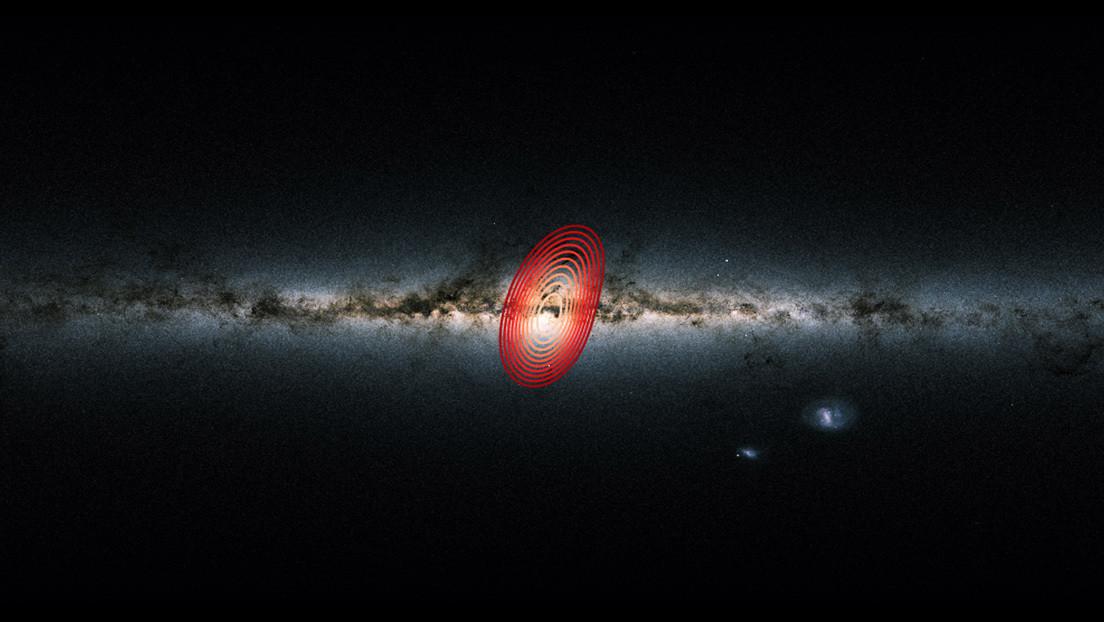 Descubren los restos de una enorme galaxia en las profundidades de la Vía Láctea