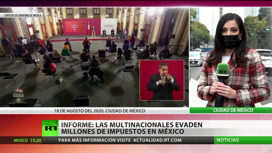 Informes: Las multinacionales evaden millones de impuestos en México