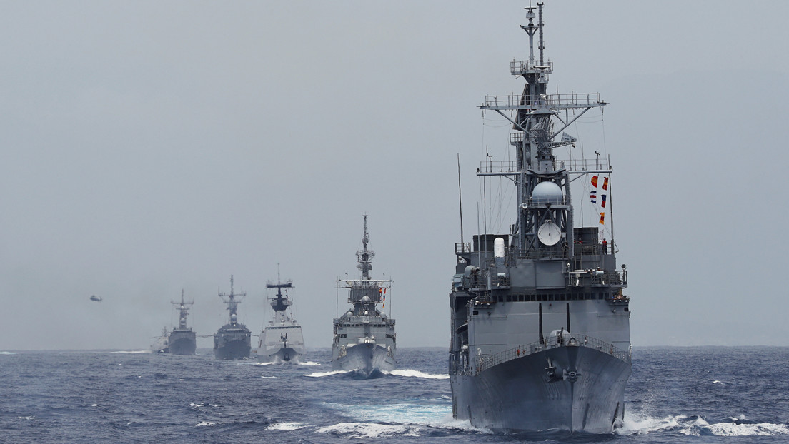 """China promete una respuesta """"legítima y necesaria"""" a la visita del almirante estadounidense a Taiwán"""