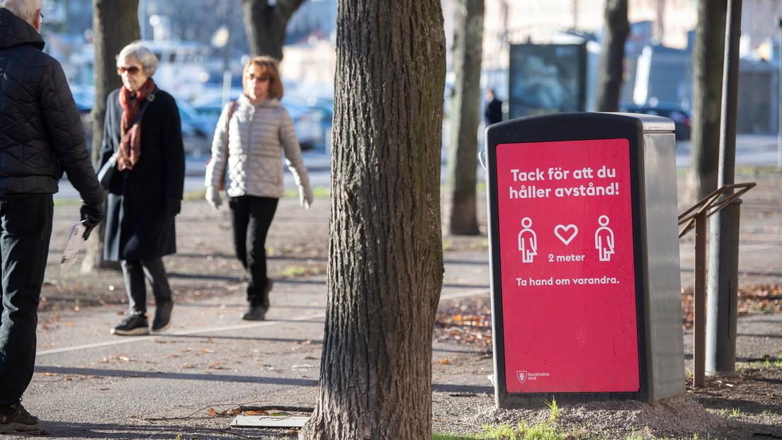 """""""El peligro está creciendo"""": el primer ministro de Suecia regaña a la población por descuidar las recomendaciones ante la pandemia"""