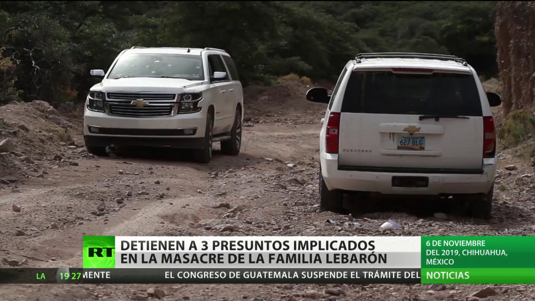México: detienen a tres presuntos implicados en la masacre de la familia mormona LeBarón