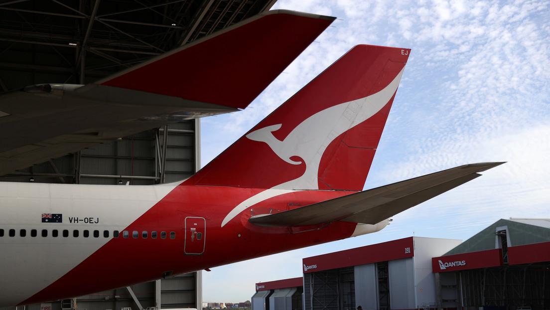 La aerolínea australiana Qantas obligará a sus pasajeros internacionales a vacunarse contra el covid-19