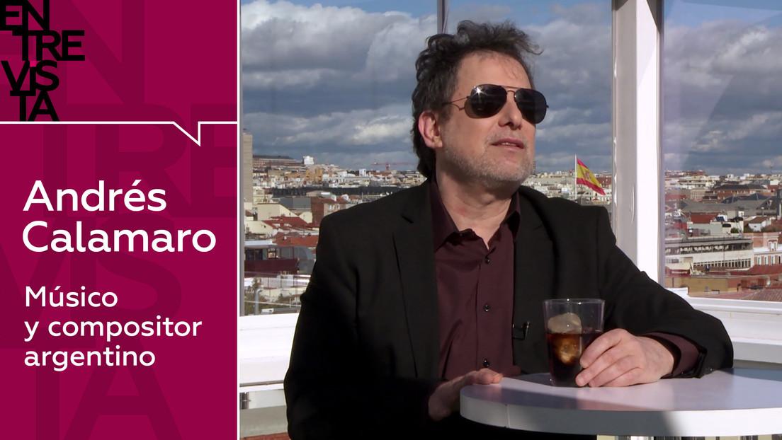 """Andrés Calamaro, músico y compositor argentino: """"No tengo miedo a la pandemia, no tengo miedo a nada"""""""