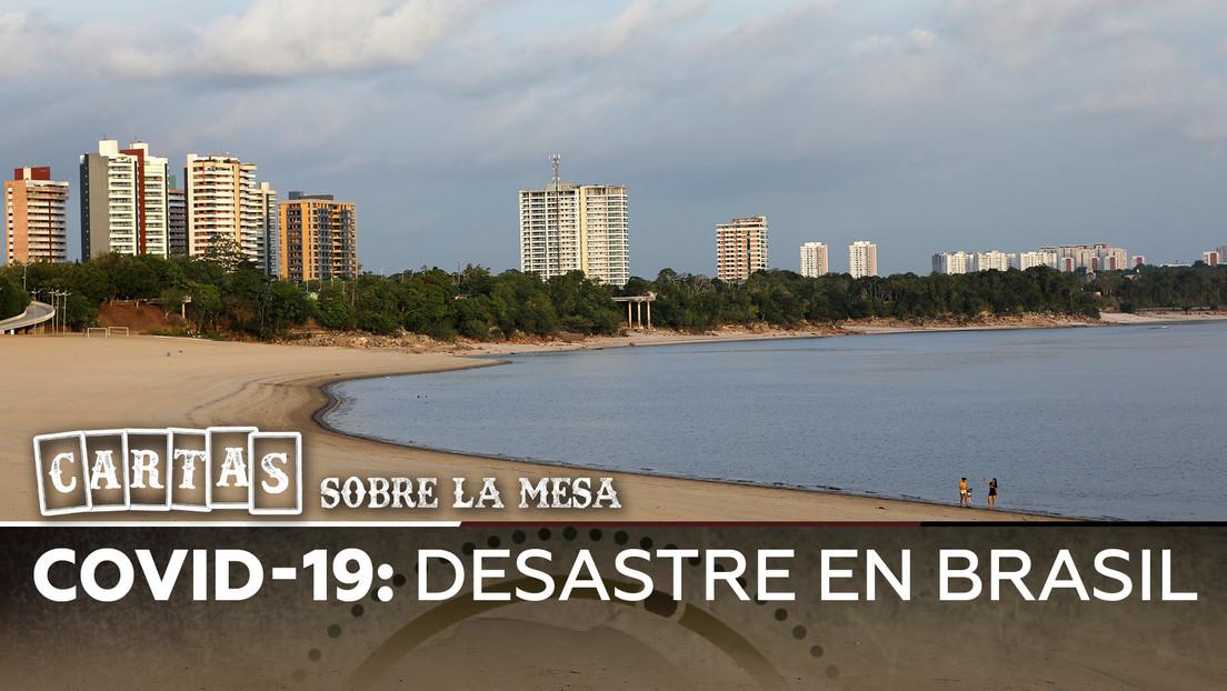 Covid-19: Desastre en Brasil