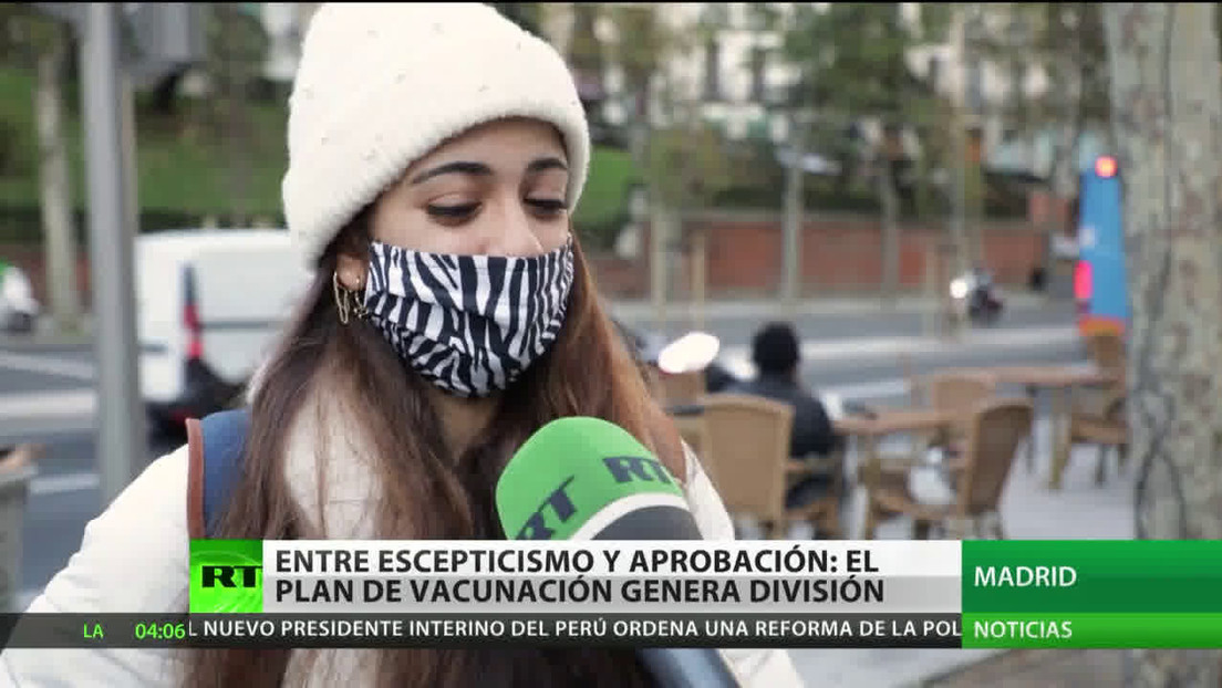 Entre escepticismo y aprobación: El plan de vacunación divide a los españoles