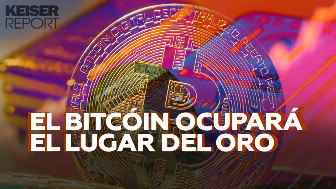 """""""El bitcóin es el agujero negro del dinero fíat y absorberá incluso el precio del oro"""""""