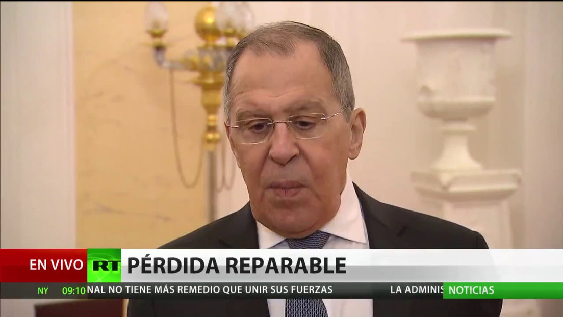 """Lavrov: """"Abogamos por la búsqueda de nuevos acuerdos pero no los necesitamos más que EE.UU."""""""