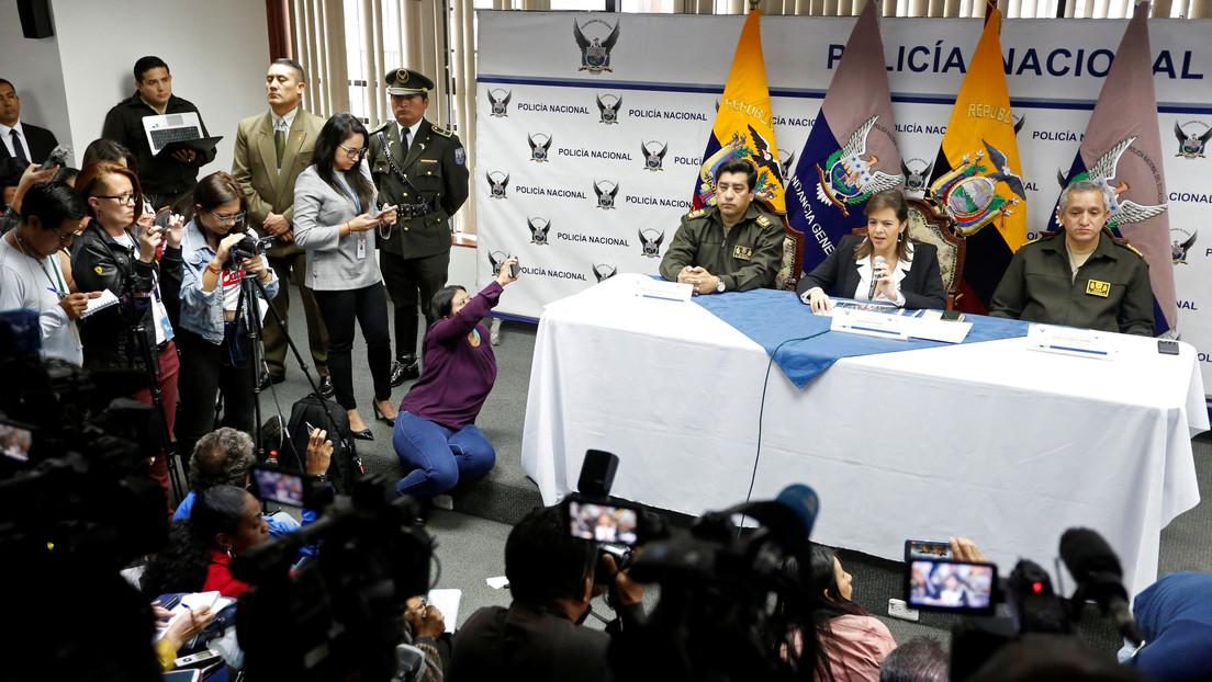 Parlamento de Ecuador aprueba la destitución de la ministra de Gobierno, María Paula Romo, por su actuación en las protestas de 2019